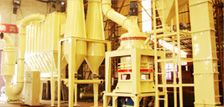 Three-Ring Powder Mill Producti